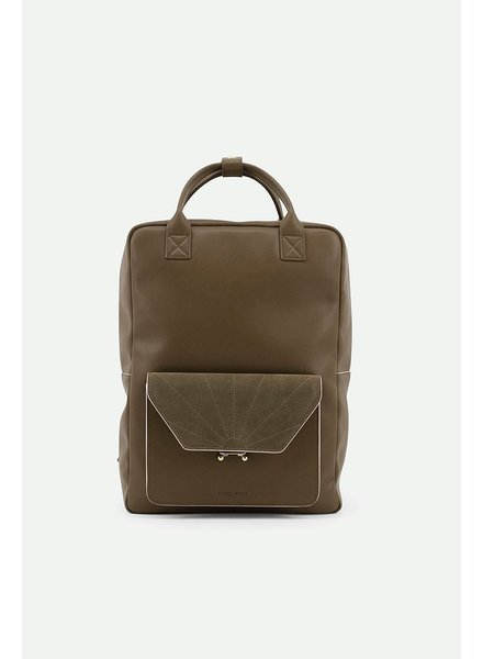Sticky Lemon The Sticky Sis Club backpack ton sur ton | olive green