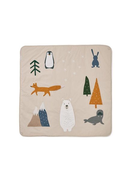 Liewood Glenn activity blanket - arctic mix