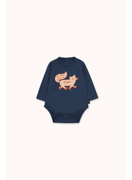 Tiny Cottons TINY FOX BODY light navy/ cappuccino