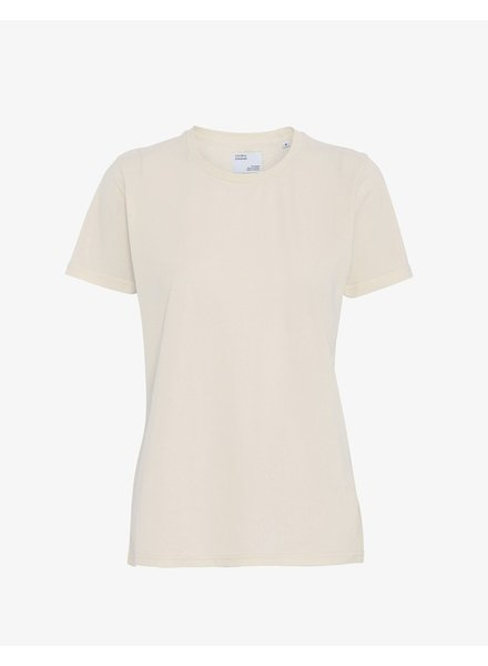 Colorful Standard Women Light Organic Tee - Ivory White