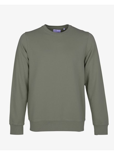 Colorful Standard Classic Organic Crew - Dusty Olive