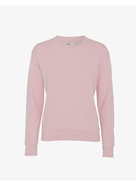 Colorful Standard Women Classic Organic Crew - Faded Pink