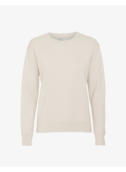 Colorful Standard Women Classic Organic Crew - Ivory White