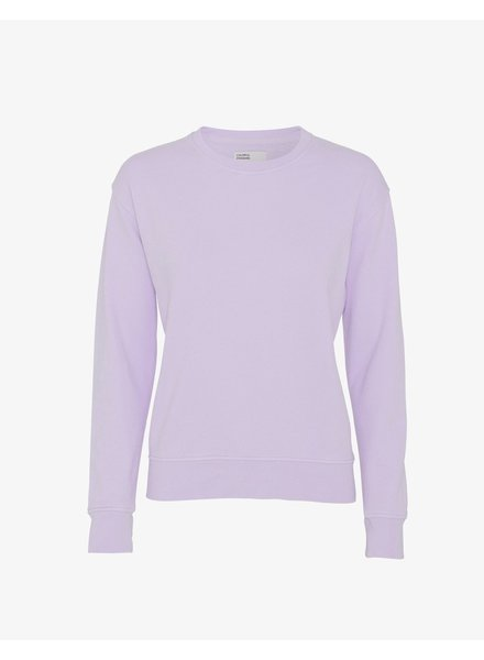 Colorful Standard Women Classic Organic Crew - Soft Lavender