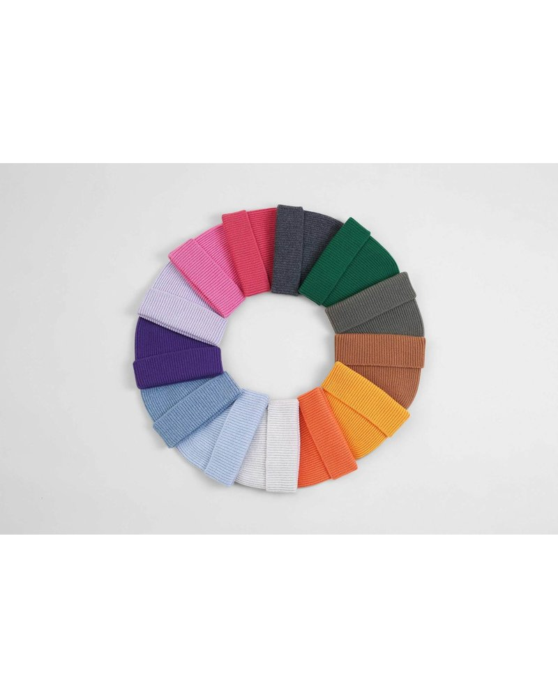 Colorful Standard Merino Wool Beanie - Sahara Camel