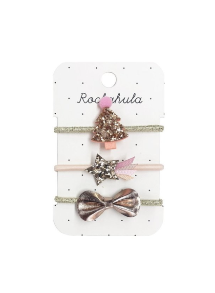 Rockahula Kids Rose Gold Xmas Tree Ponies