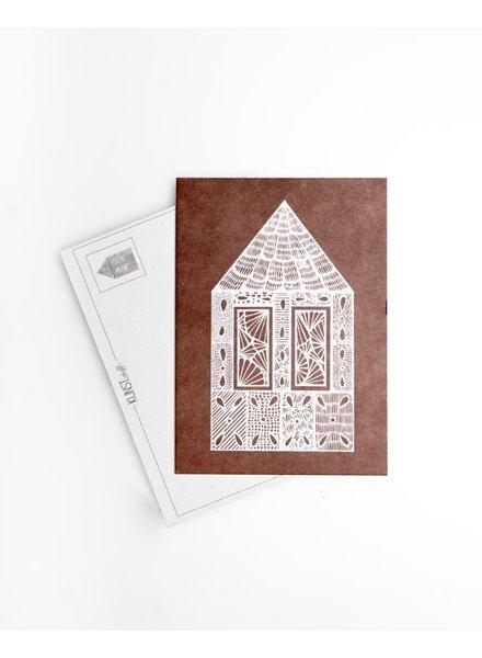 Postkarte - Lebkuchenhaus Rost