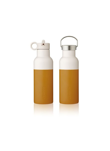 Liewood NEO water bottle - Mustard/sandy mix