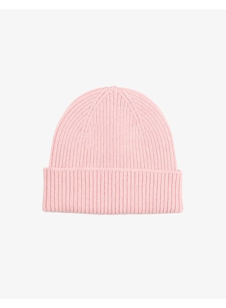 Colorful Standard Merino Wool Beanie - Faded Pink