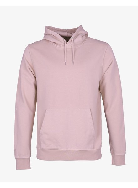 Colorful Standard Classic Organic Hood - Faded Pink