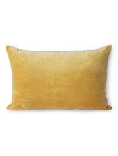 HK Living Velvet cushion gold
