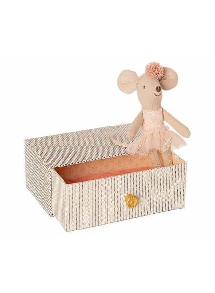 Maileg Dancemouse with daybed - little sister