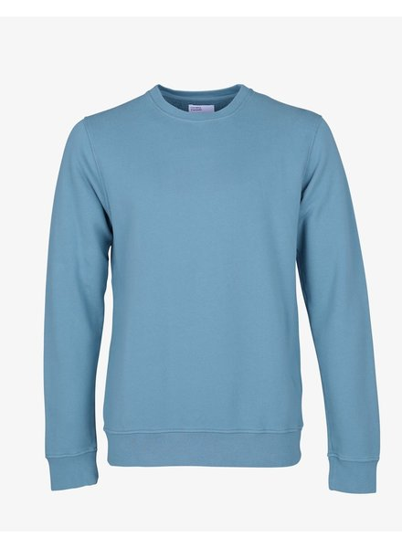 Colorful Standard Classic Organic Crew - Stone Blue