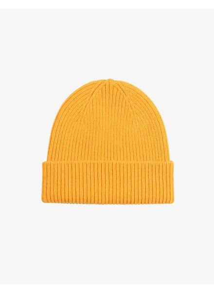 Colorful Standard Merino Wool Beanie - Burned Yellow