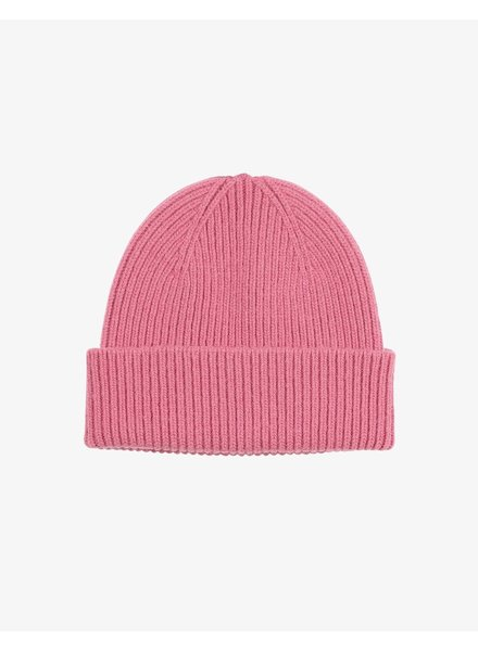 Colorful Standard Merino Wool Beanie - Bubblegum Pink