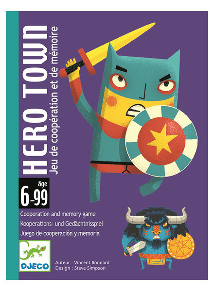 Djeco Hero Town - cards