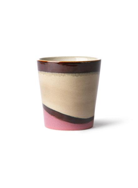 HK Living Ceramics 70's Kaffebecher - dunes