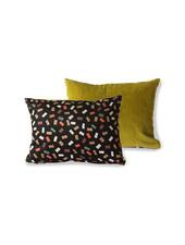 HK Living Doris for hkliving printed/rib cushion flakes