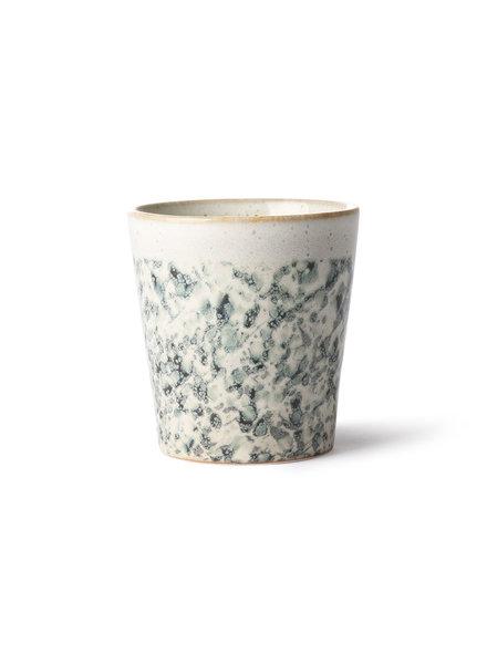 HK Living Ceramic 70's mug - Hail