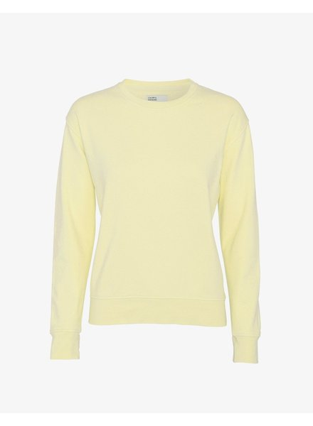 Colorful Standard Women Classic Organic Crew - Soft Yellow