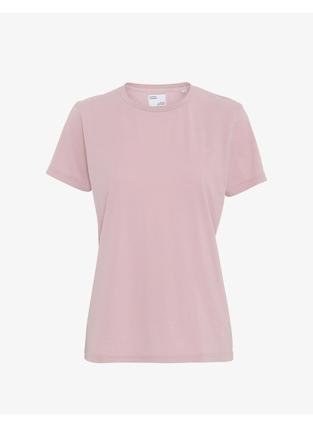 Colorful Standard Women Light Organic Tee - Faded Pink