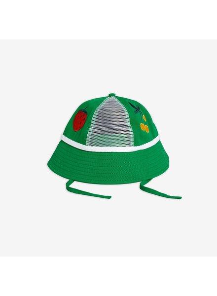 Mini Rodini Mesh sun hat - Green