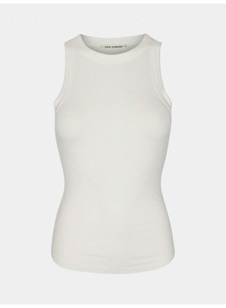 SOFIE SCHNOOR TOP JULLIE - white