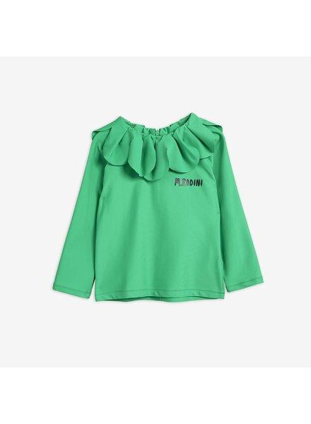 Mini Rodini Strawberry UV top green