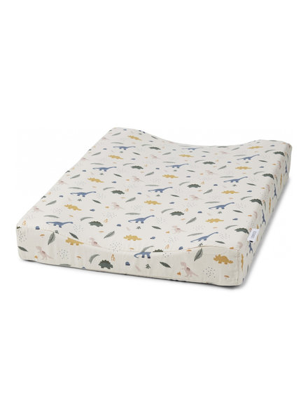Liewood Fritz changing mat - Dino dove blue mix
