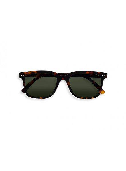 IZIPIZI #L SUN Tortoise Green Lenses