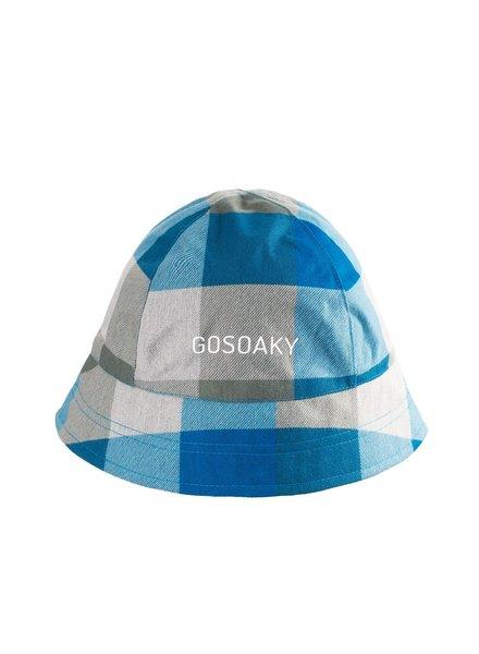 GOSOAKY FOXY FOX - scuba blue check