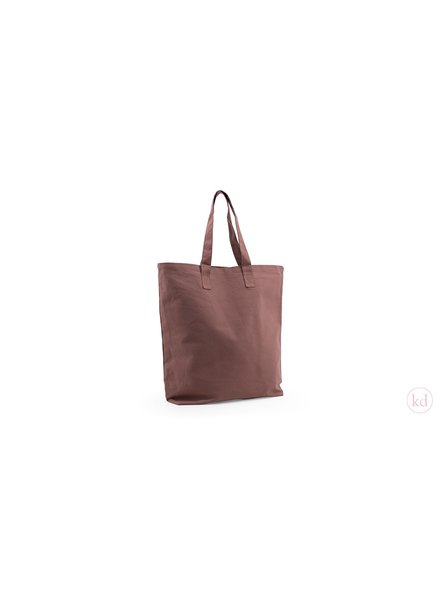 Small Heroes Shopper - Chocolate Brown