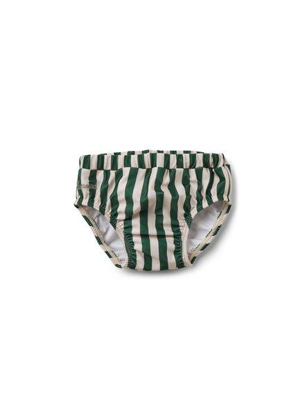 Liewood Frej baby swim pants - Garden green/sandy