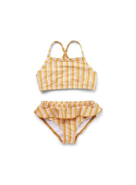 Liewood Norma bikini set - Peach/sandy/yellow mellow