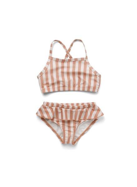 Liewood Norma bikini set - Coral blush/creme de la creme