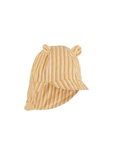 Liewood Gorm sun hat - Peach/sandy/yellow mellow