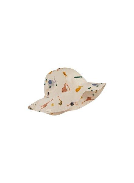 Liewood Amelia sun hat - Safari sandy mix