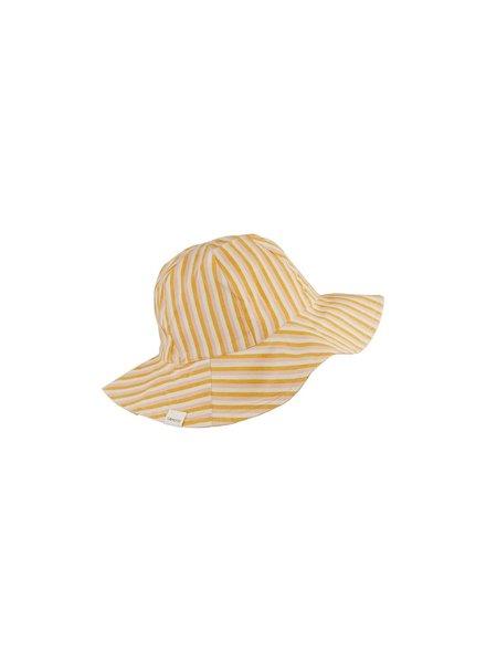 Liewood Amelia sun hat - Peach/sandy/yellow mellow