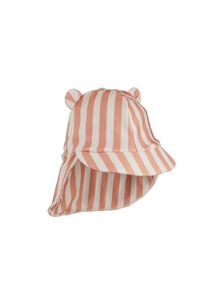 Liewood Senia sun hat - Coral blush/creme de la creme