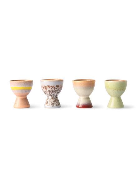 HK Living 70s ceramics - Eierbecher