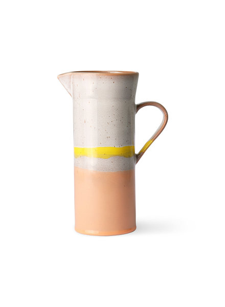 HK Living 70s ceramics - jug sunrise