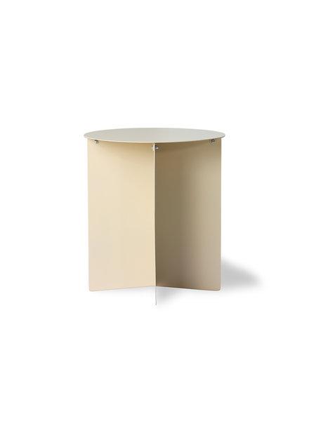 HK Living Metal side table round cream