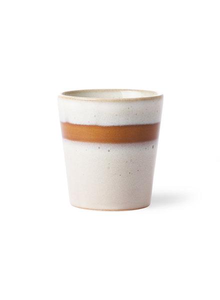 HK Living Ceramic 70's mug - Snow