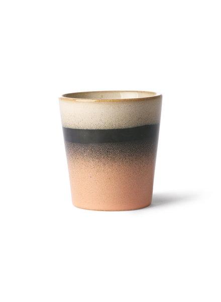 HK Living Ceramic 70's mug - Tornado