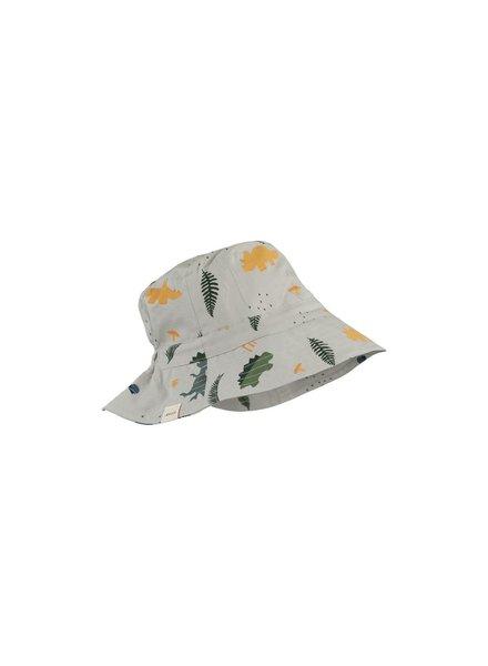 Liewood Sander bucket hat - Dino dove blue mix
