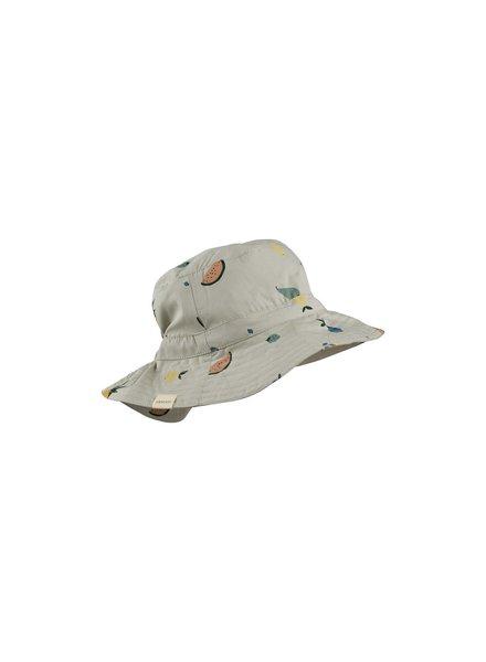 Liewood Sander bucket hat - Fruit dove blue