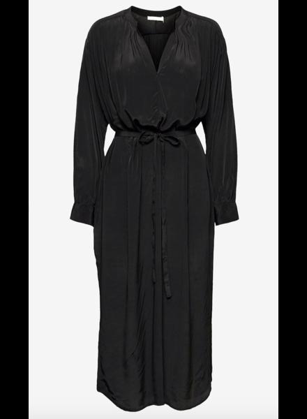 Rabens Saloner TWILIGHT SHIRT DRESS PENNY - faded black