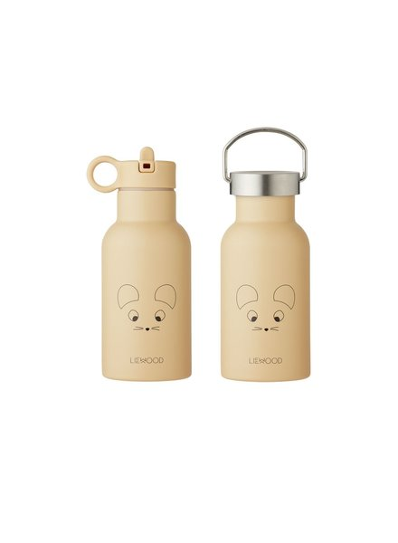 Liewood Anker water bottle - Mouse Wheat Yellow