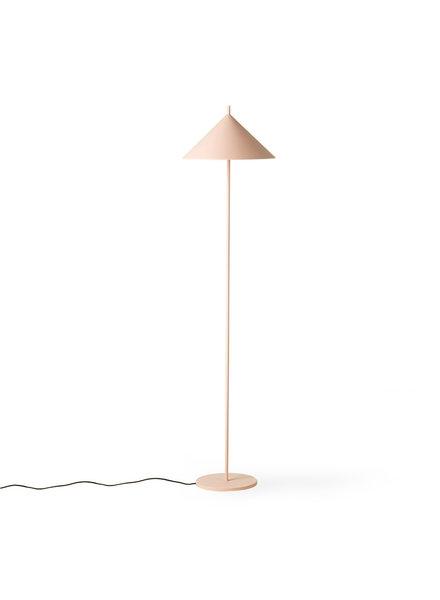 HK Living METAL TRIANGLE FLOOR LAMP matt nude