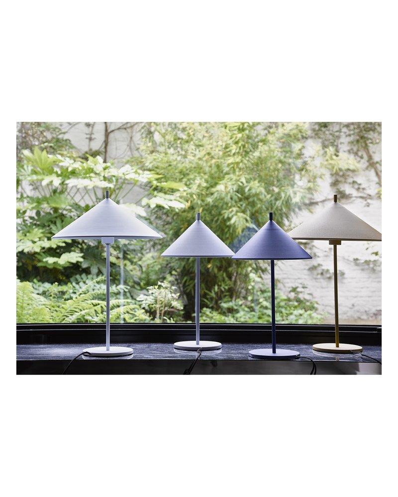 HK Living METAL TRIANGLE TABLE LAMP M black